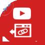 صانع الروابط الخلفية لمقاطع يوتيوب